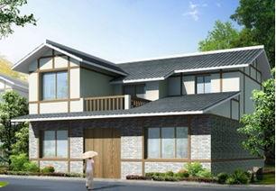 ...平方米农村二层房屋设计图,8x16米,造价 28万,编号 J611