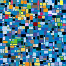 彩色格子矢量图片