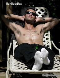 白袜子帅哥图片