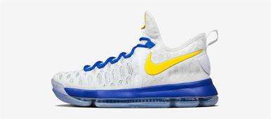 ...耐克篮球正式发布特别版的杜兰特第九代战靴:KD9. 杜兰特的签名...