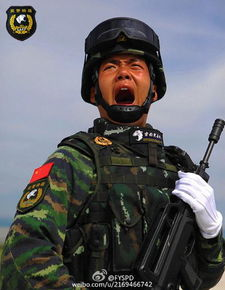 ...警部队受阅方队军人在训练中-9月3日抗战胜利70周年阅兵英模部队...