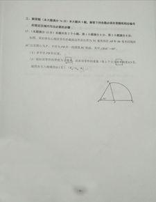 2017年上海杨浦区高三一模考试数学试卷及答案解析