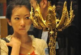 ...w.tibet328.cn 西藏艺术与考古展 吸引东京观众