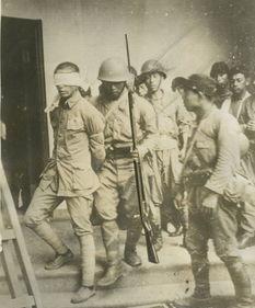 ...军押送中国士兵赴刑场.-37年上海日军残忍暴行