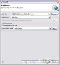 展开 Java Resources:src 文件夹,并打开 EJBClientServlet.java 文...