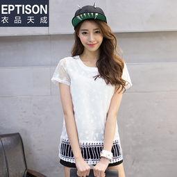 ...纺衫女蕾丝衫C072 简单网www.J.cn