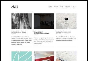 51个漂亮的个人博客和自媒体网站
