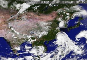 苏那罗的圣塔-2015年8月8日6时45分台风