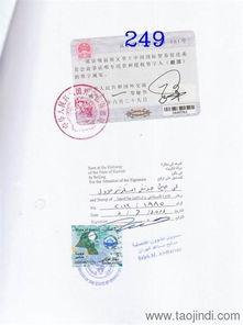 ...威特大使馆出口合同盖章详情