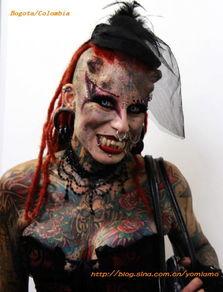 ...离看到墨西哥 吸血鬼女人 组图