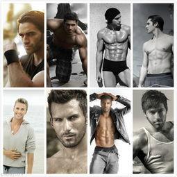 外国欧美性感肌肉男人高清图