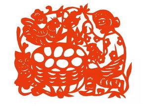 二者相合也隐含着阴阳结合,化生生命的寓意.   中国民间美术的心点...