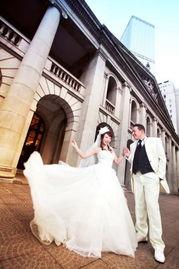 ...们的爱情记忆 香港街头婚纱照 1