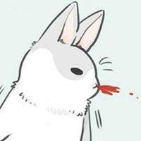 表情 可爱的line小灰兔表情包 表情