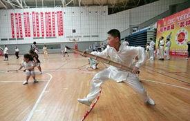 福州举办首届 武林杯 大赛 武者说健身无敌 图