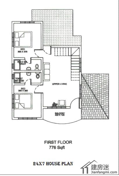 ...00平米的两层自建房设计图