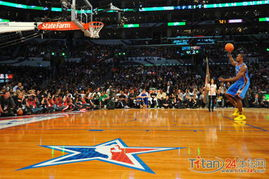 NBA全明星 伊巴卡扣篮大赛集锦 罚篮线起跳超前辈