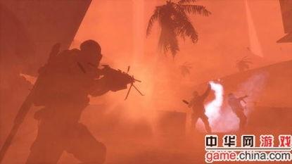 长,拯救身处被沙暴毁灭的迪拜内的美国第33步兵团.主角沃克队长配...