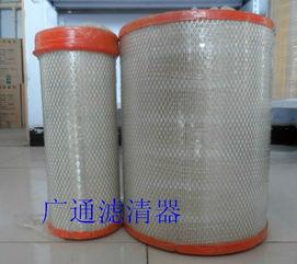 广通滤清器 PUK2836空气芯