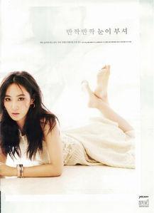 少女时代Yuri允儿 High Cut 杂志写真