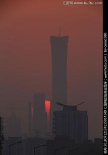 北京CBD剪影