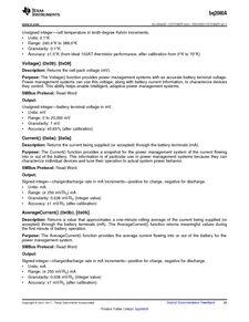 ...ents厂商 BQ2060A E619DBQG4 pdf预览第 29 页, datasheet数据手...