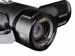 ▲VM-HMX20C的大镜头,很有专业的素质吧!-时尚便携式迷你DV
