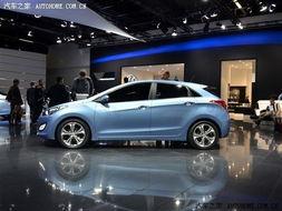 在法兰克福车展上,现代正式发布了全新一代i30,该车采用了新设计...