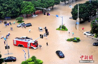 苏那罗的圣塔-台风 苏迪罗 袭闽 福州水位暴涨城区变泽国