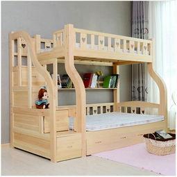 实木双层床的优缺点