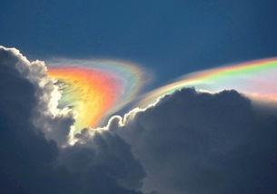 雨后彩虹图片唯美大全 真实唯美的雨后彩虹天空图片