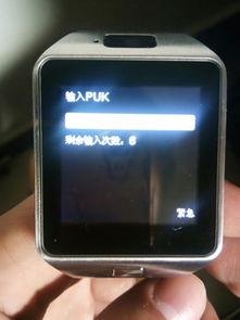 智能手表输入puk是什么