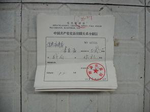 中国共产党党员组织关系介绍信 6个