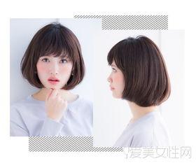 2018流行发型图片女-哇 2016年日系短发真的太好看了