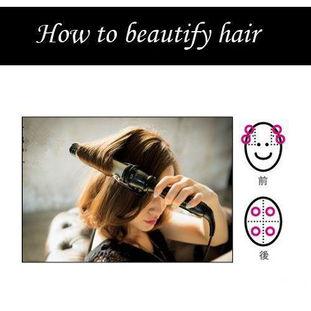 使用气囊梳可以让头发在使用卷发棒卷过之后不会变得生硬.   无论长...