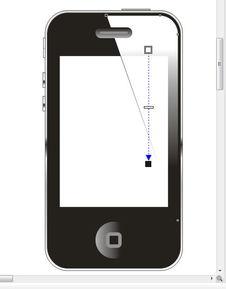 CDR绘制IPHONE4手机教程