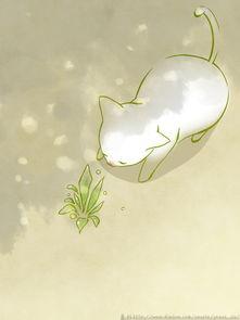 简单可爱的动物插画