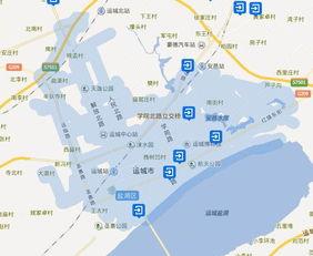 从街景地图区域上看山西城市的市区大小排名