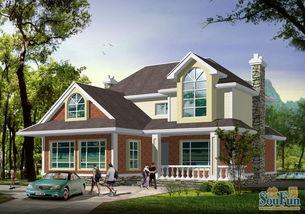 小别墅屋顶效果图解析 新农村别墅设计连连看