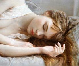 俄罗斯艺术家 Avdewir Saidov 唯美人体油画欣赏