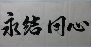 社团名称书法大比武 作品展示