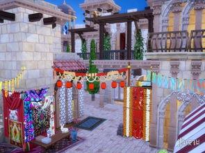 模拟人生4 阿拉伯村庄与宫殿MOD V20190203