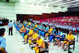 广东佛山36名黑社会成员受审 200警力维持秩序
