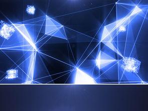 高科技蓝色粒子穿梭logo片头模板素材 高清MP4格式下载 视频216.85...