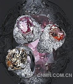 钻戒采用上世纪40年代最经典的镶嵌方式.据悉这只钻戒价值3000万...