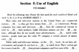 ...012公共英语三级模拟试卷及答案第三套