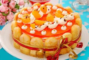 高清摄影生日蛋糕图片