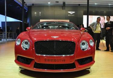 宾利欧陆GT V8车型首发亮相 2012年北京车展