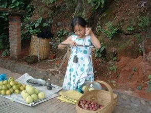 四川农村孩子的暑假生活