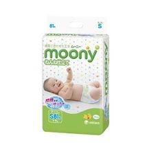 moony 尤妮佳 婴儿纸尿裤,产地为日本,与花王、大王等为同公司产...